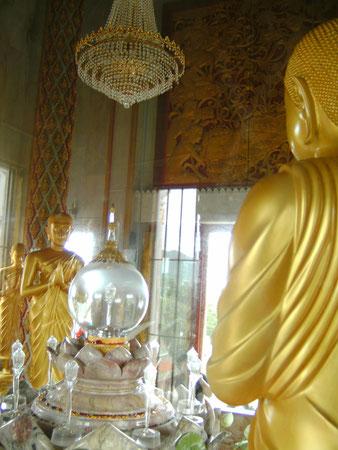 Wat Chalong, ein Teil eines Knochens Buddhas