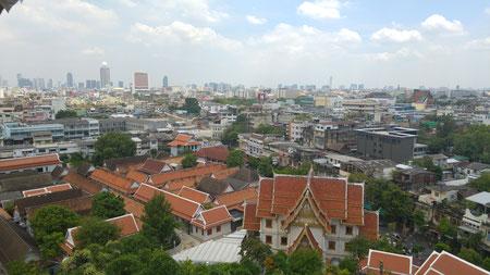 Aussicht vom Golden Mount (Wat Saket)