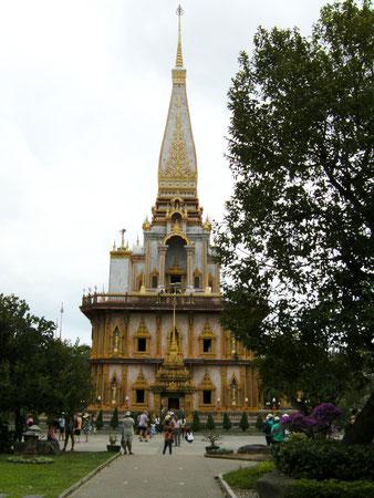 Chedi im Wat Chalong