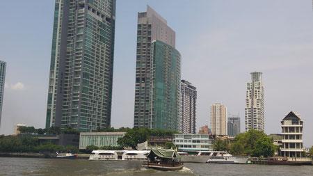 Bootstour auf dem Chao Phraya River
