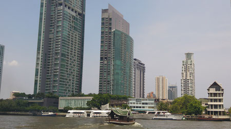 Bootstour auf dem Chao Phraya River