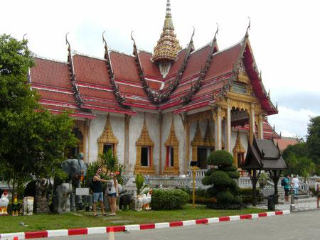 Phuket, Wat Chalong - der größte Tempel der Insel