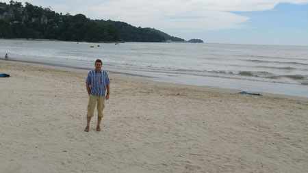 Patong Beach, der Autor
