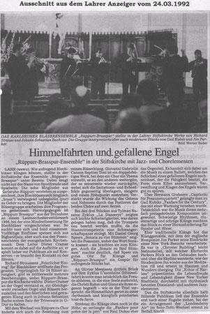 Lahrer Anzeiger 24.03.1992