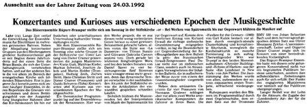 Lahrer Zeitung 24.03.1992