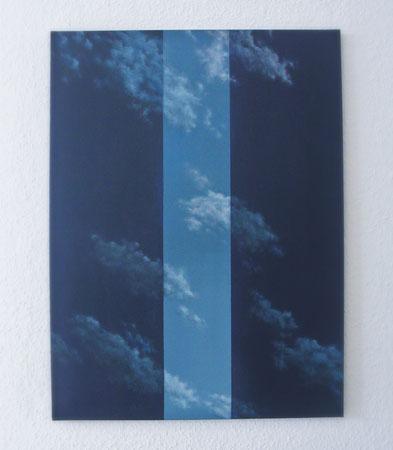 skyborder // 80x100cm // oil on canvas