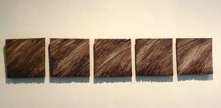 23x23 cm squares oak ©Isabelle dethier