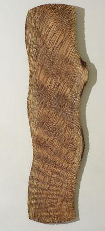 2 m 40cm Douglas fur & sculpture ©Isabelle dethier photo ©Luc Schrobiltgen