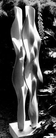 Lime wood - tilleul 1m62cm ©Isabelle Dethier