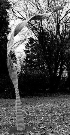 chesnut wood - chataignier 2m05cm ©Isabelle Dethier