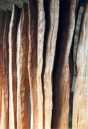 cherry wood  ©Isabelle Dethier..