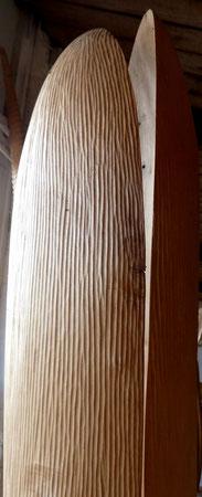 Lime wood -tilleul 2m25cm ©Isabelle dethier