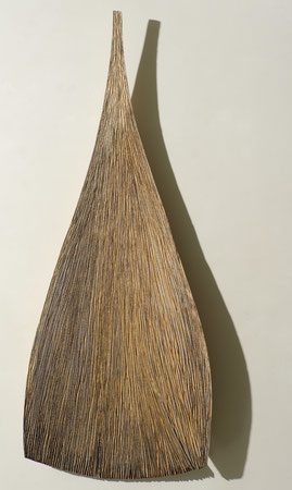 Oak-chene 1m75cm x76cm ©Isabelle Dethier photo ©Luc Schrobiltgen