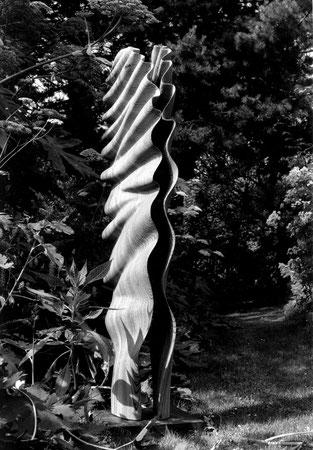 Zébrano wood 1m80cm ©Isabelle Dethier Photo © Helene de Mevius