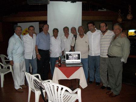 Joaquín Ramírez, Adolfo Aponte, Nelson Royero, William Salas, Miguel Rodríguez, Orlando Montenegro, Carlos Adams Prado, Jaime Suárez, Claudio Rodríguez Chaparro y Jorge Estupiñan.
