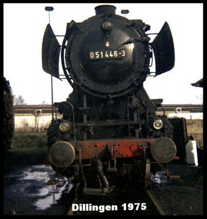 50 1446 im Bw Dillingen 1975