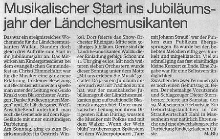 Bericht im Erbenheimer Anzeiger vom 25.05.2012