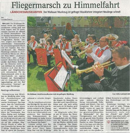 Bericht im Main-Taunus-Kurier vom 23.05.2012