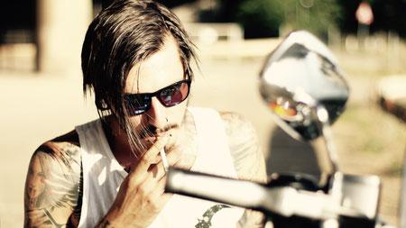 Inkalude - Harley Davidson - Smoke