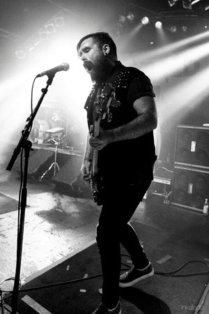 Skindred | Markthalle Hamburg - Daniel Pugsley - Black and White | inkalude