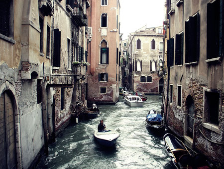 Channel, Venice, Italy