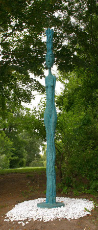 Regenzauberin, 2009, 285 cm
