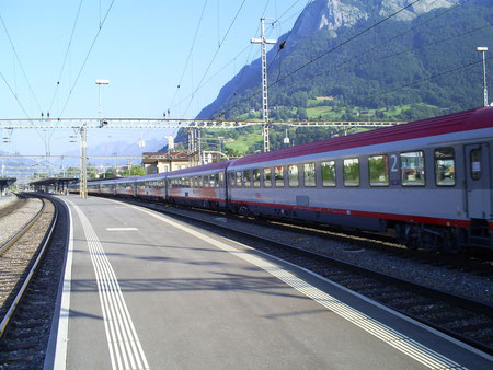 Zug 15163 in Sargans