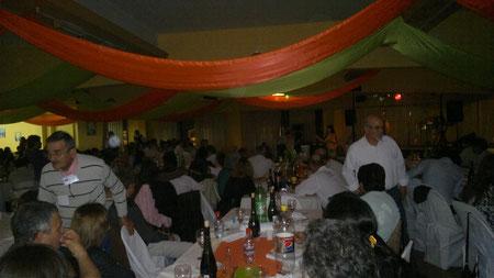 noche de fiesta y premios