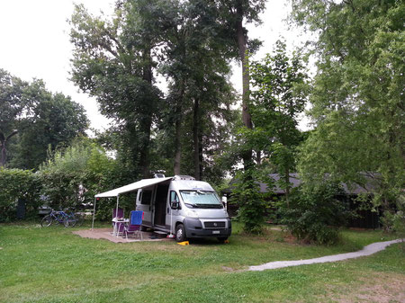 Der Campingplatz Lübbenau