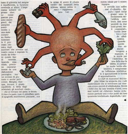 """Illustrazione per """"Avvenimenti"""" - 1991"""
