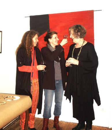 Sigrid Kofler, Dora Karacsonyi, Renate Antwerpen