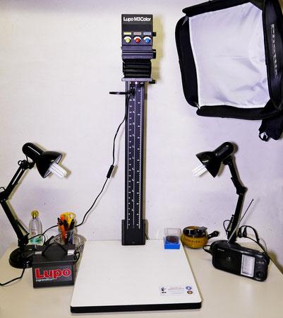 Lupo M3 Color Ingranditore con Testa Colore e Stabilizzatore