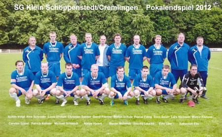 Pokalspiel 2012