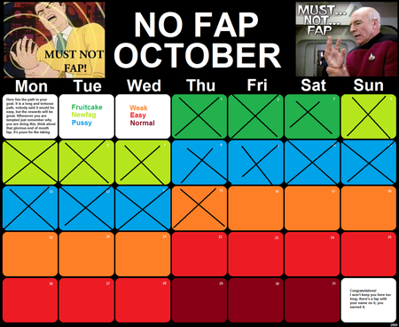 No fap October