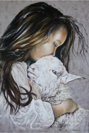 L'enfant et l'agneau