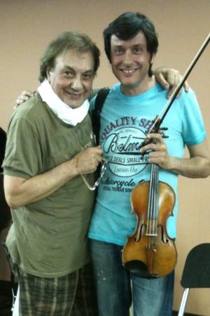 Tullio De Piscopo  e Fabrizio Riceputi,SINFONICO,Roma foro Italico 10-7 2013