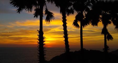 Sonnenuntergang Promthep Cape