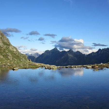 Bergsee beim Passo di Gagnone