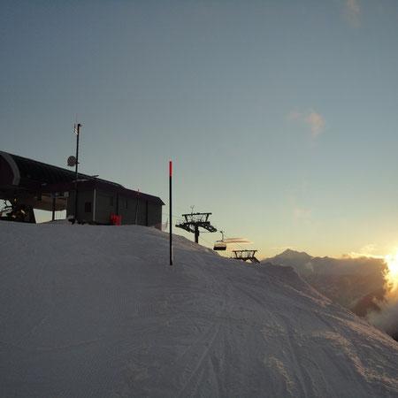Bergstation Sesselbahn Wurzenbord