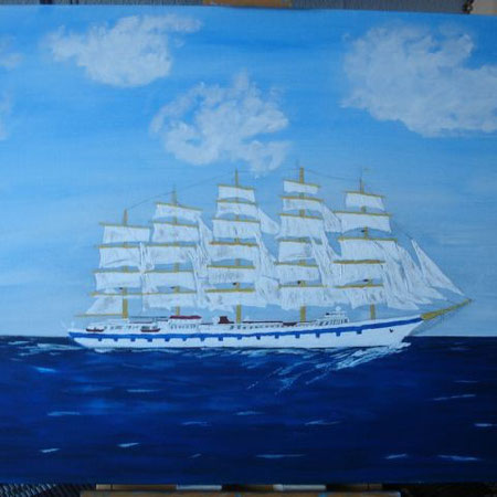 ROYAL CLIPPER  50 x 70