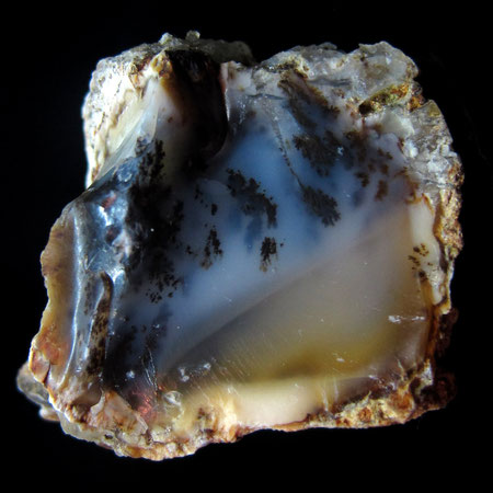 Opal mit Dendriten aus Dobersberg / Waldkirchen