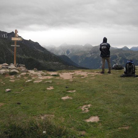 Auf dem Col de Tricot