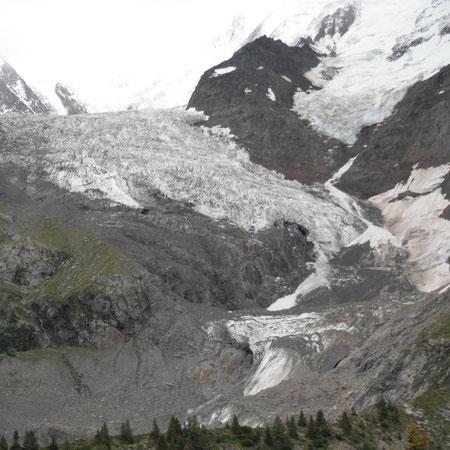 Unser erster Gletscherkontakt
