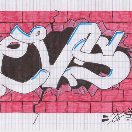 Essai de logo pour le LVSmag par Alex DUDEK (09/2013)