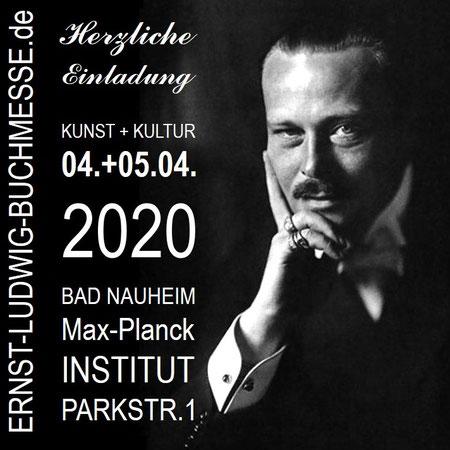 Einladung zur Ernst-Ludwig-Buchmesse 2020 mit Uli Aechtner !