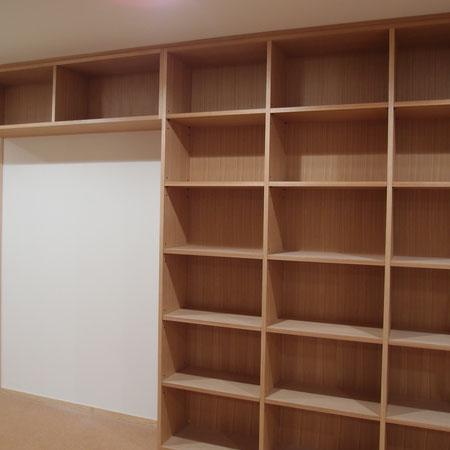壁面収納 本棚