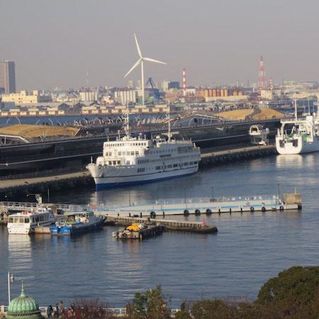 Porto de Yokohama - Ōsan-bashi