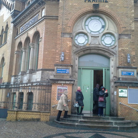 Вход в Берлинский клуб глухих (Восточный Берлин, бывший ГДР)