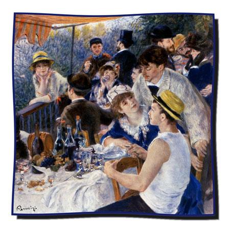 Artikel Nr. 1122 Frühstück der Ruderer - Renoir (100 x 100 cm)