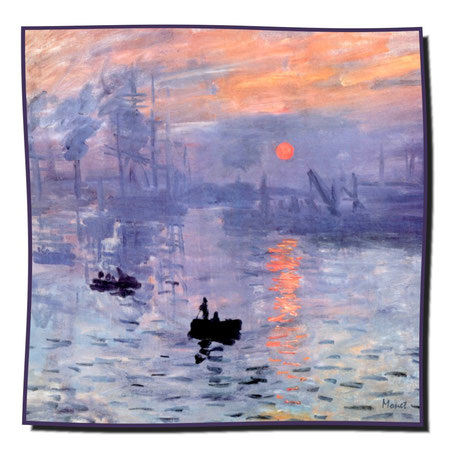 Artikel Nr. 1076 Sonnenuntergang - Monet (100 x 100 cm)